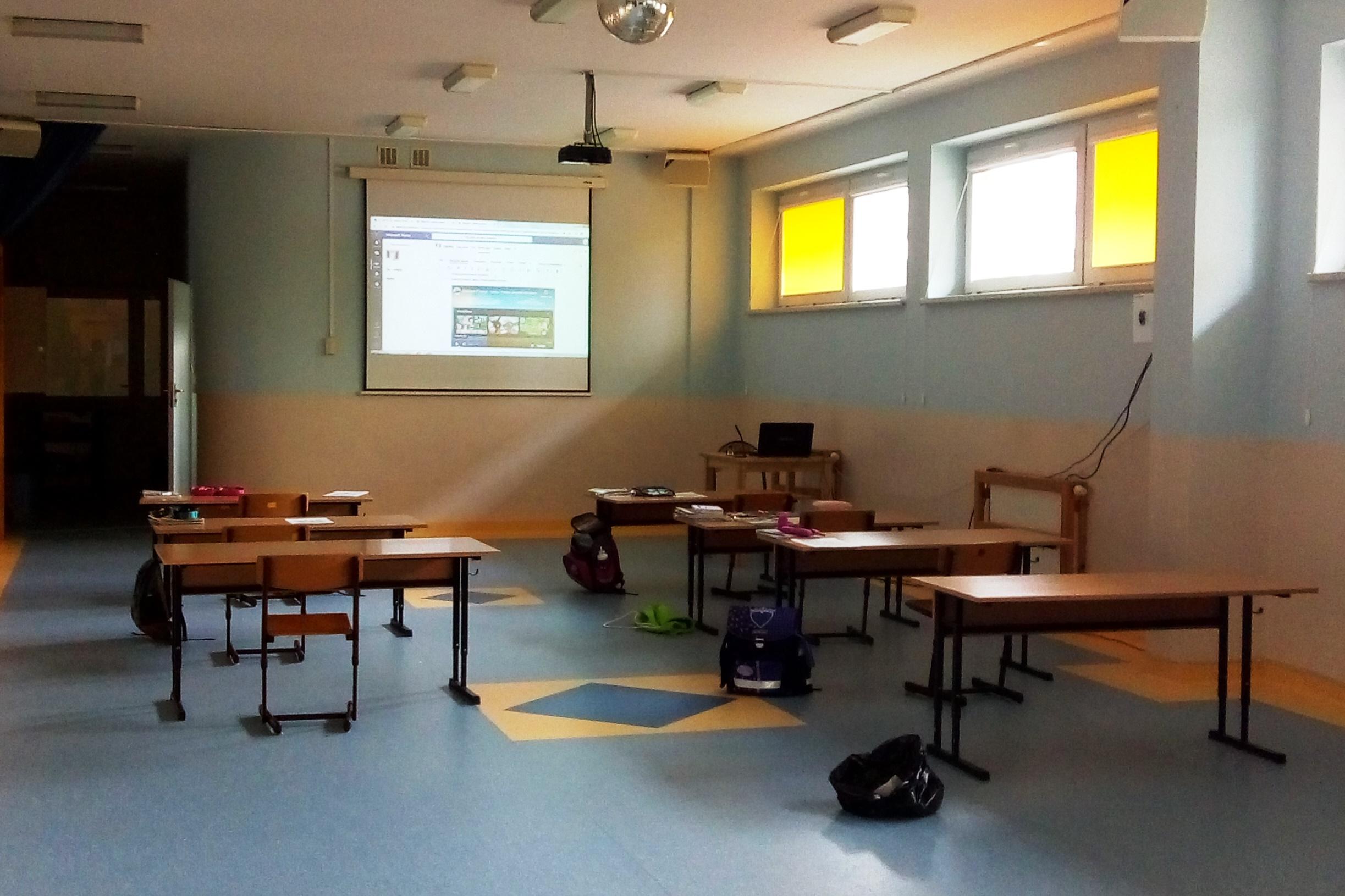 Zajęcia opiekuńczo – wychowawcze dla uczniów kl. 1-3