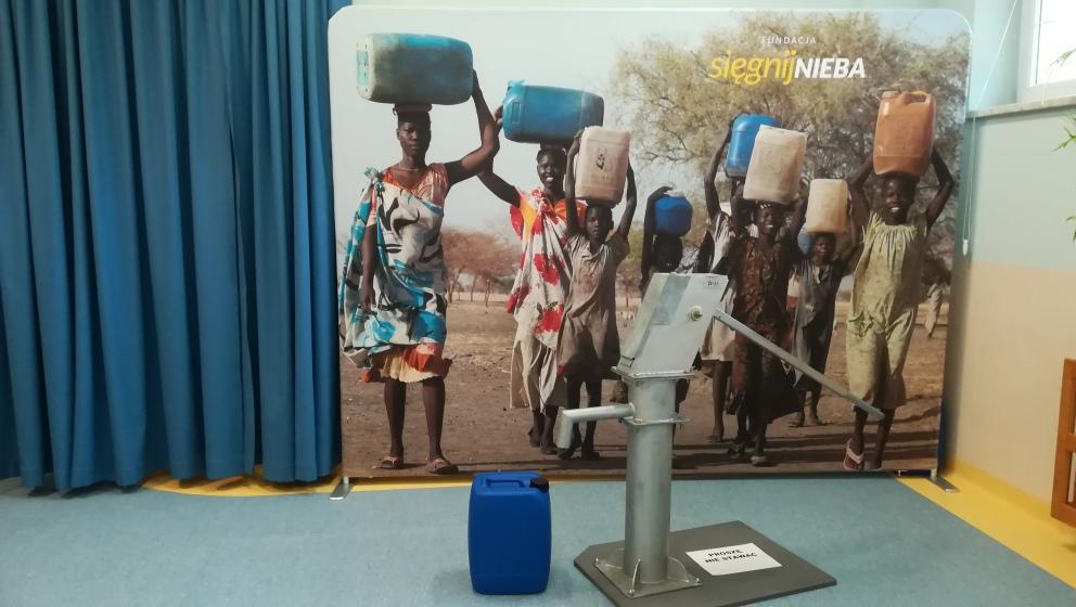 Woda dla sąsiada z Afryki